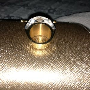 Jewelry - Ring gold and Swarovski